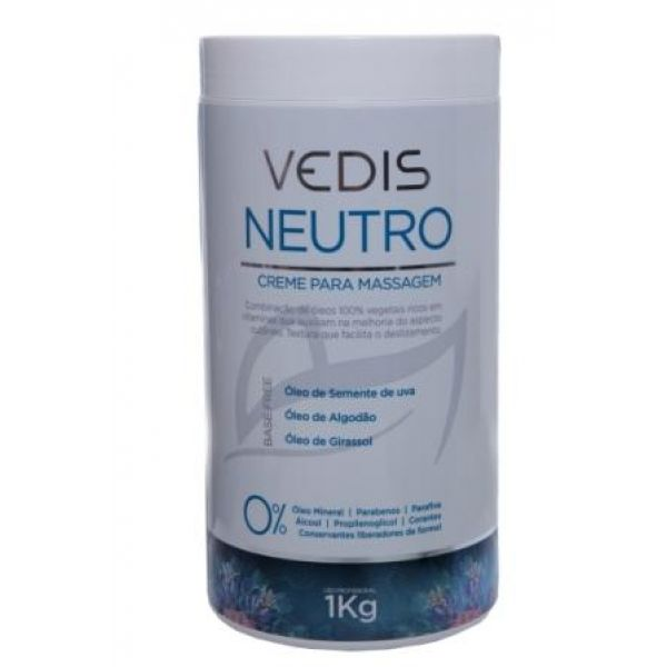 Creme de Massagem Neutro/Base Free Vedis